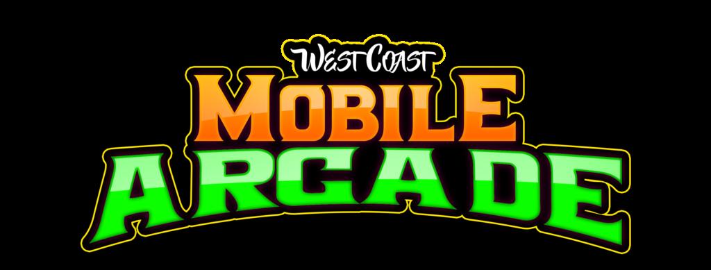 Video game truck parties in San Bernardino County California - West Coast Mobile Arcade logo
