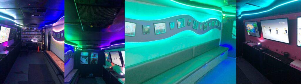 Video game truck, game bus, game trailer in San Bernardino County, California