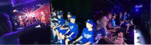 Large group entertainment in San Bernardino County California